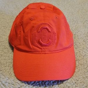 Nike Ohio State ballcap hat red